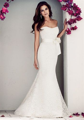 11 best images about fit and flare wedding dresses on for Fit n flare lace wedding dress