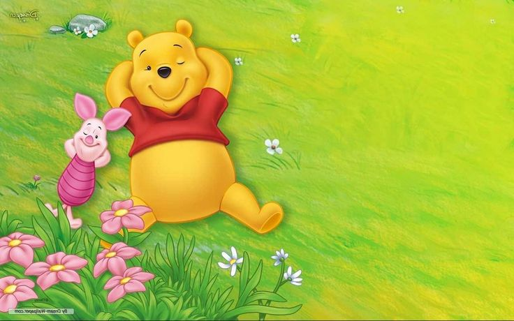 Winnie The Pooh And Friends Wallpaper (с изображениями)