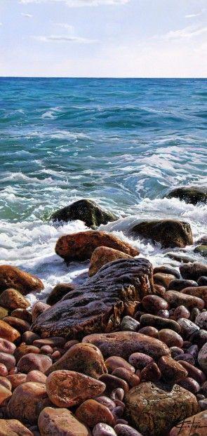 Marc Esteve, Seascape I, Oils | Contemporary Art