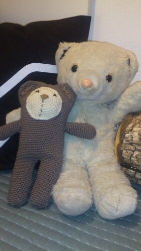 Crochet teddy bear - several evenings of crocheting