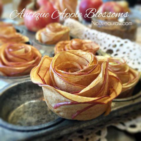 Antique Apple Blossoms (raw, vegan, gluten-free)