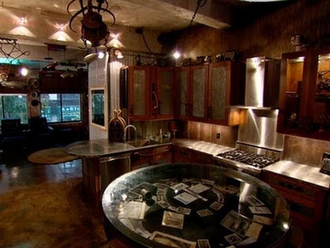 unique steampunk apartment