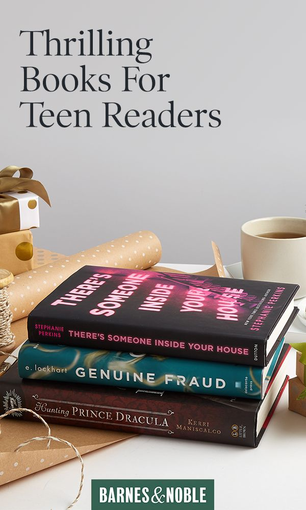 All the top teen thrillers in one place - check out BarnesAndNoble.com this holiday to find a book for every reader on your list.