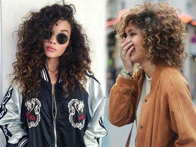 Kıvırcık Saçlılar İçin Adım Adım Saç Modelleri