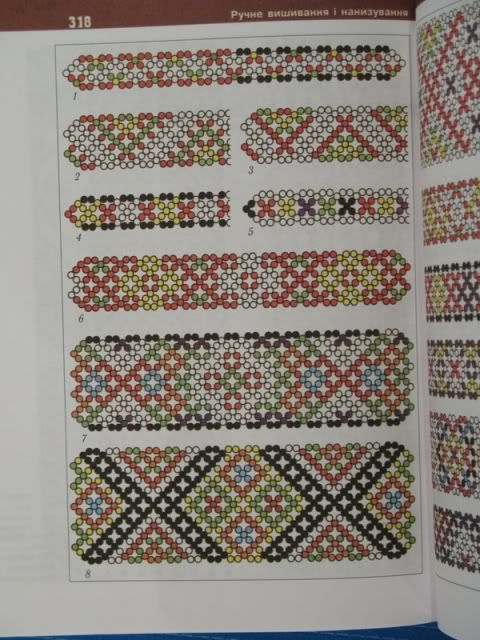 Ukrainian Embroidery pattern book beading appliqué bead photo by post_horse  #nettingstitch #heartbeadwork