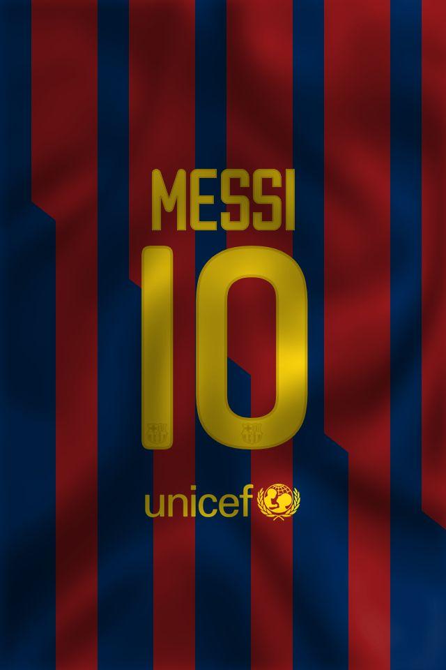 Wallpaper of Barcelona Messi shirt .
