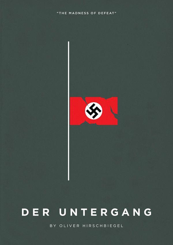 Downfall (Der Untergang) (2004) ~ Minimalist Movie Poster by Eder Rengifo