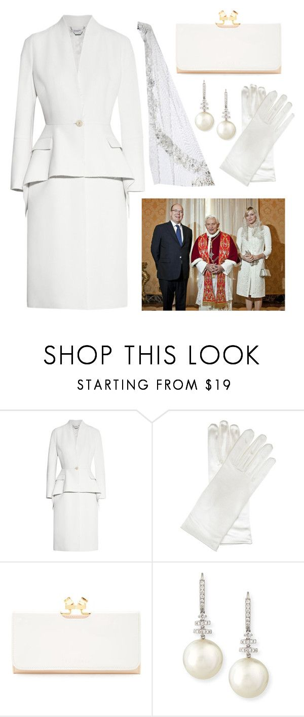 Visiting the Pope by theprissydiary on Polyvore featuring Givenchy, Ted Baker, Belpearl, Wolford and Guide London