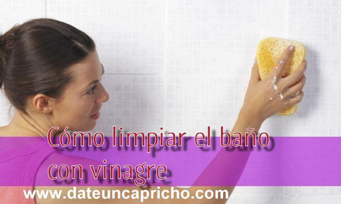 Limpiar Azulejos Baño Juntas:Trucos con Vinagre: Cómo limpiar el baño