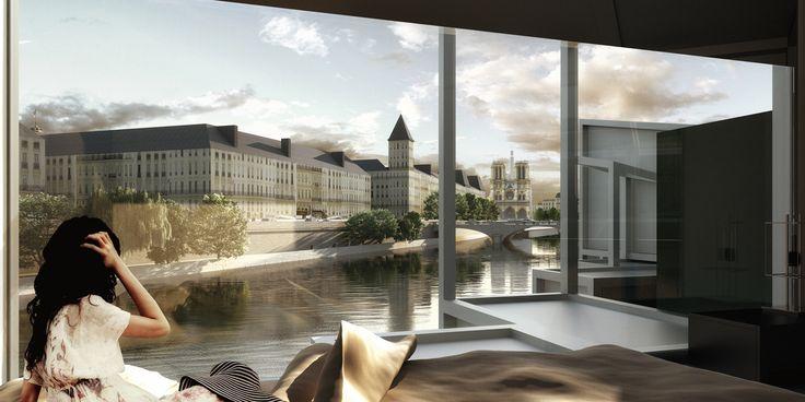 Galería - MenoMenoPiu propone hotel cápsula para turistas en París - 4