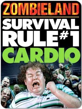 Rule #1: Apocalypse Training, Zombies Survival, Zombie Preparedness, Zombieland Survival, Zombie Apocalypse, Zombies Post, Zombie Prepping, Rule 1 Cardio Crap