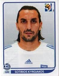 Image result for 2010 panini greece kyrgiakos