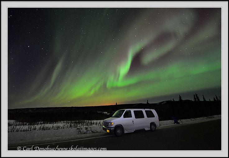 Aurora Borealis Matanuska Glacier | Alaska Northern lights ...