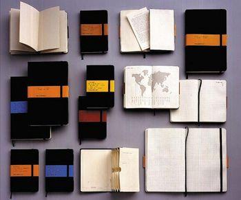 天才たちが愛したノート・ブックとだけあって、愛用者の多いモレスキン・ノートブックは、今日でもクリエイティブで想像力豊かな、プロフェッショナル達のかけがえのないパートナーとなっています。