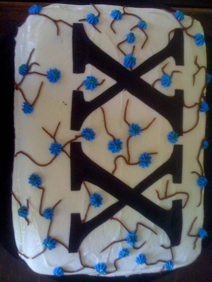 20 th birthday cake