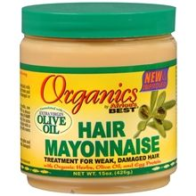 "Organics Africa's Best Hair Mayonnaise. The ""Holy Grail"" of deep conditioners"