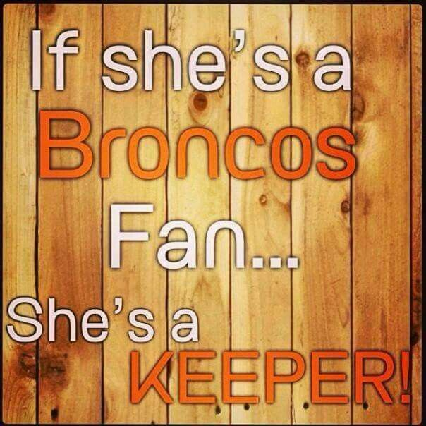 Denver Bronco's fan 4ever !