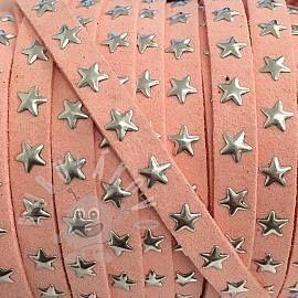 Semišová šnúra hviezdy rose