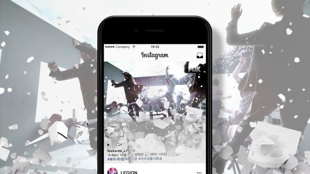FOX Korea _ LEGION Instagramt promotion All Planning & Design: FOX Korea OAP by UGO End sequence Hee Il. Lee