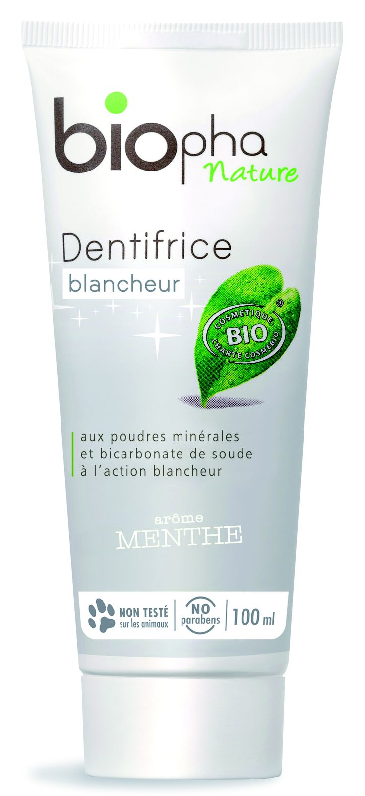 Dentifrice blancheur à la menthe, Biopha: Beautiful Wishlist, Mint, Dentifrice Blancheur, Lamand Blanche