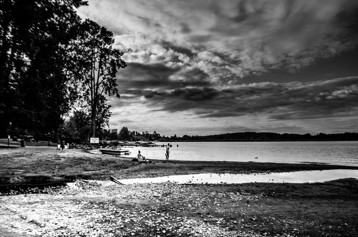 the BW waterscape by Gautam Gupta on 500px