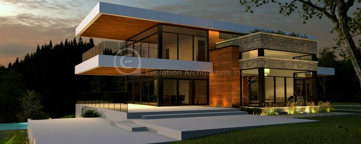 Evolution architecturemaison contemporainecréation exclusive e 804