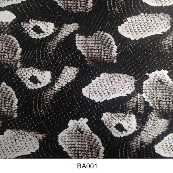 Water transfer film animal skin pattern BA001