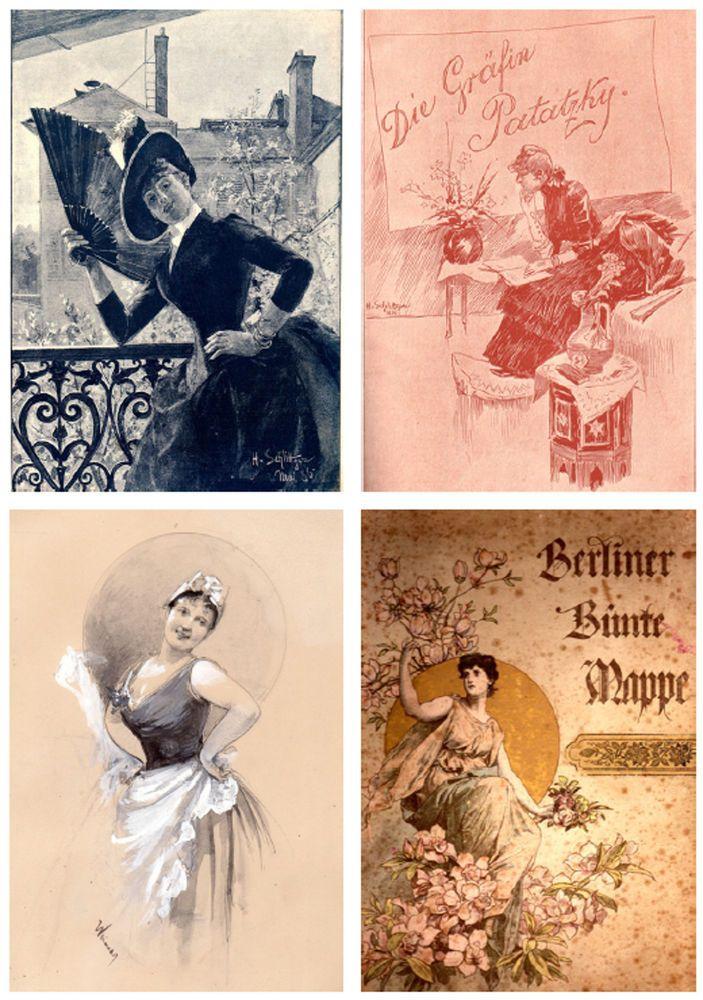 Hermann Schlittgen Deutscher Maler (1859-1930) über 200 Bilder Pictures CD