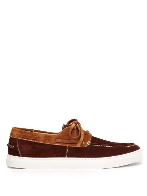 O'keeffe Stafford Suede Deck Shoes In