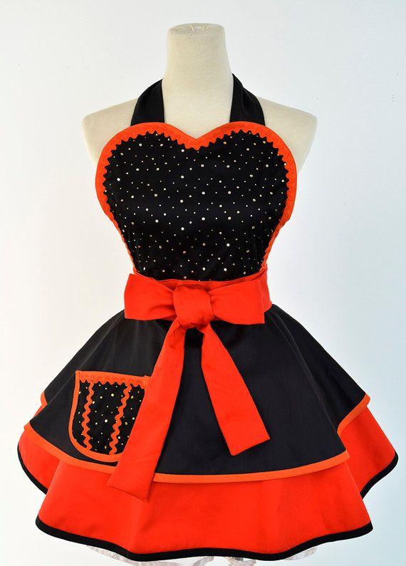 Halloween Apron- Witch costume apron