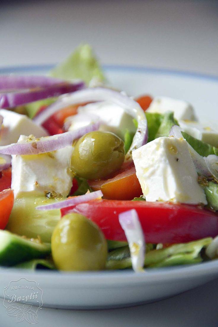 Sałatka grecka | Kuchnia Bazylii