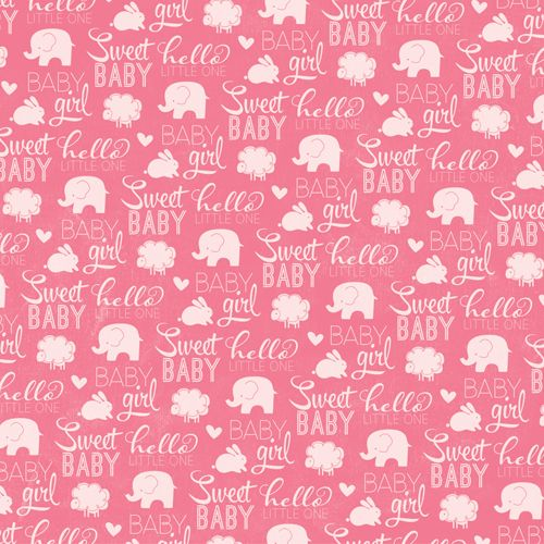 baby girl scrapbook paper | Scrapbook Paper/ Backgrounds ...