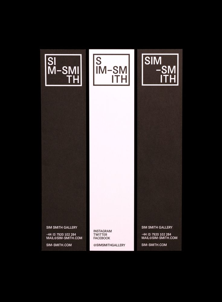 Sim Smith Gallery designed by Spin