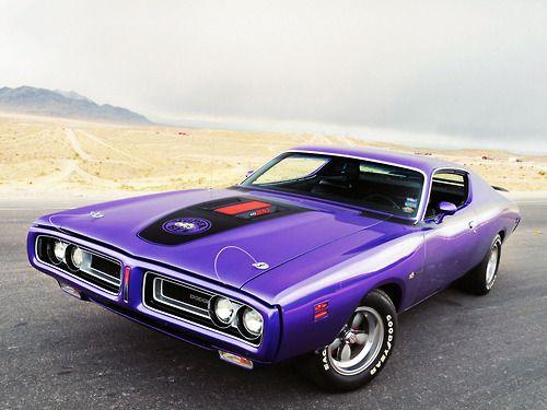 71' Dodge Charger R/T, Plum Crazy Purple...