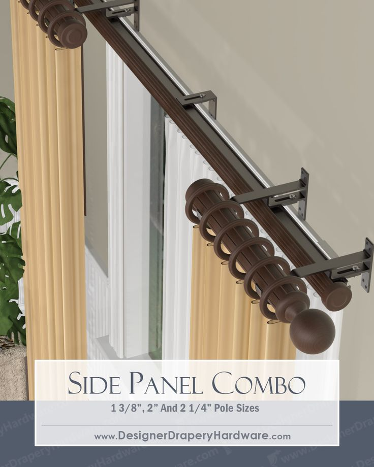 Decorative Double Traverse Curtain Rod Iron Blog