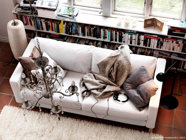 Un loc bun în care să te oprești și ... să stai pur și simplu!   KARLSTAD canapea  www.IKEA.ro