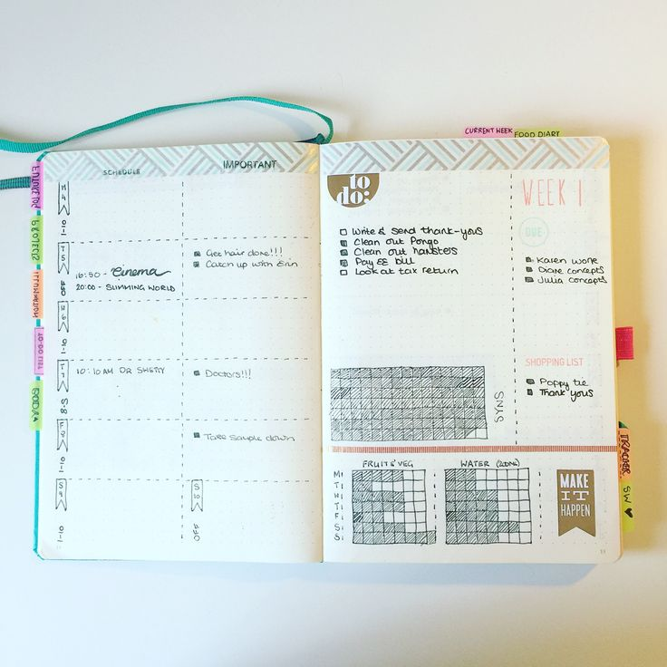 291 best Bullet journal inspiration images on Pinterest Planners - sample weekly agenda