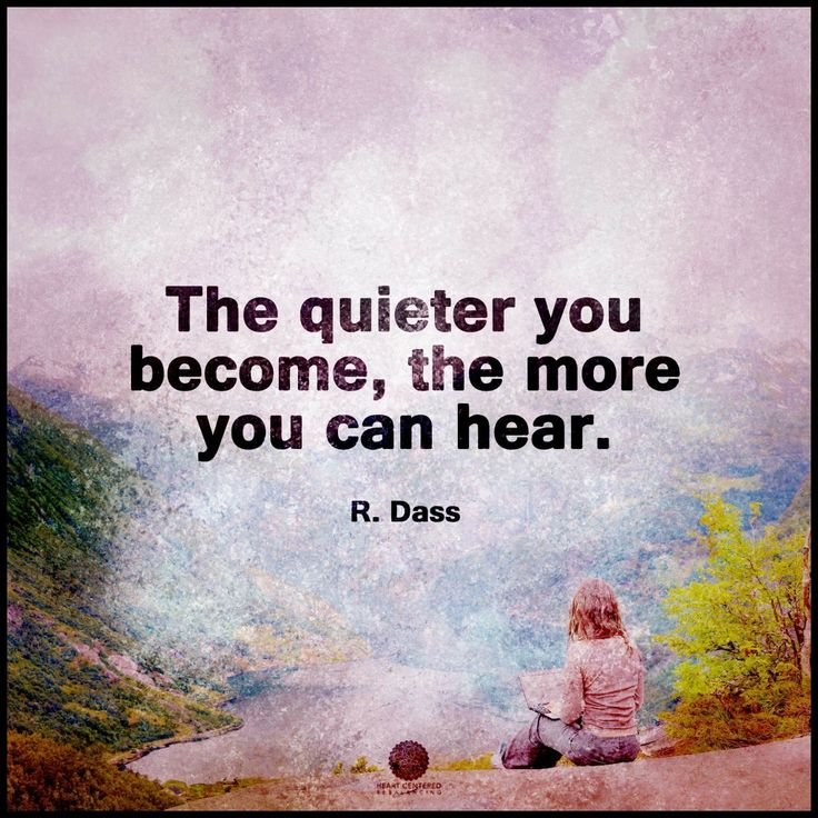 Yes! Lord, please enable me to Be QUIET this year & teach me how to Listen!!