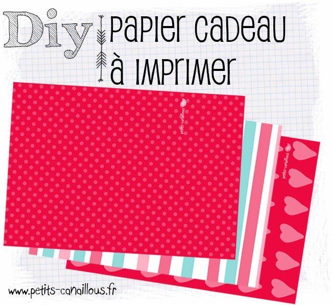 Des jolis papiers cadeaux pour la Saint-valentin ! par petits-canaillous.fr