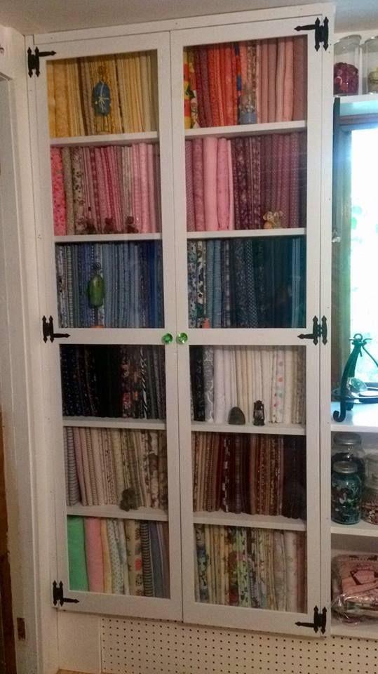 Beautiful stash and organization