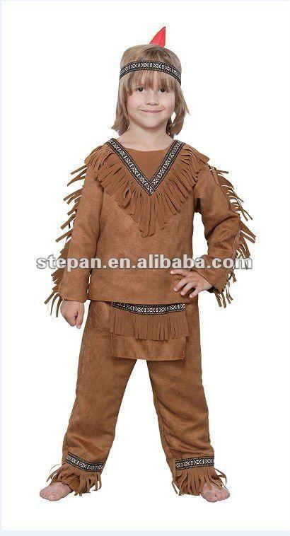 Tz,68013 indio antiguos guerreros de vestuario para los niños,imagen,Otras prendas