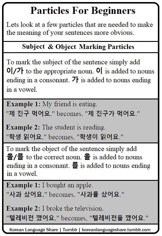 Korean Language Share : Photo