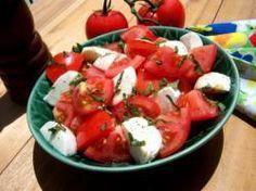 Fresh Tomato Mozzarella Salad