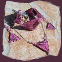 Handmade jewelry set by Zsuzsubizsu (http://zsuzsubizsu.blogspot.hu/)