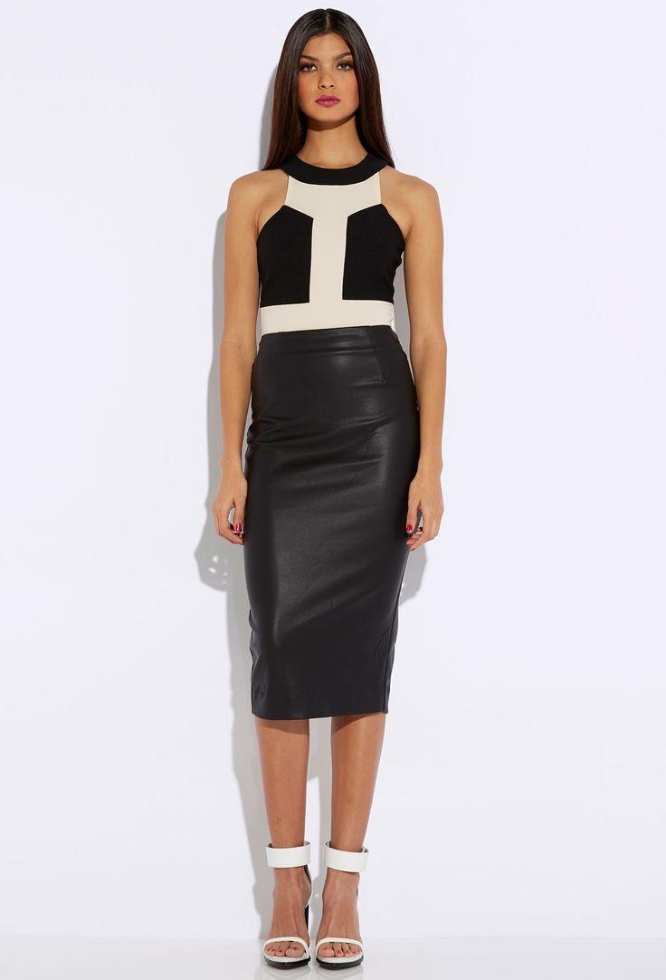 Wayne Midi Skirt Black | Dress Journal