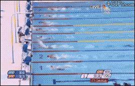 競泳、フィリップス選手勝った瞬間の動画GIFがひどすぎるw http://attrip.jp/115228/