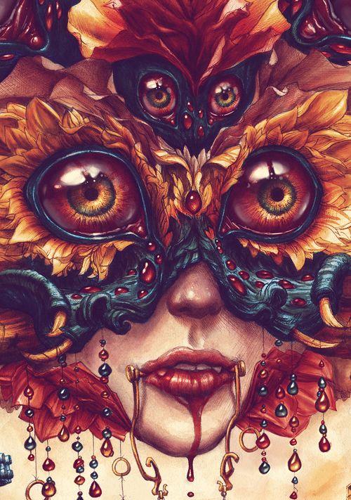 "WAAAUUUWWW!!!!!    ""Overdrive"" by N.C Winters: Artist Inspirations, Amazing Art, Http Ncwinters Bigcartel Com, Art Inspiration, Eyes Art, Illustration, Nc Wintersss, Artsy Fartsy, Nc Winters 16"
