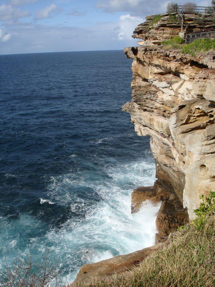 Sea cliffs at HMAS Watson
