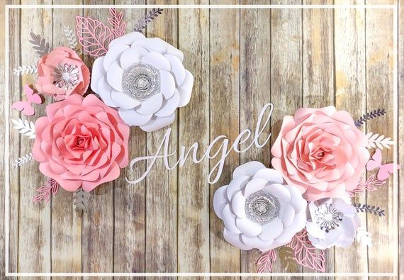 Springtime Inspired Mix of Blossoms Bouquet Romantic Feminine Retro Leaflets Background for Party Home Decor Outdoorsy Theme Vinyl Shoot Props Pink Grey Dahlia Flower 10x12 FT Photography Backdrop