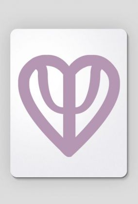 Podkładka serce lawendowa, 24,00 zł, #psychologia, #psychology, #psychopraca, #cupsell, #gifts, #prezenty, #psi #heart